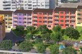 Партерен апартамент с дворно място в нов жилищен комплекс от затворен тип
