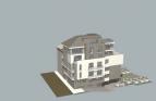 Нова сграда близо до площад Гоце Делчев